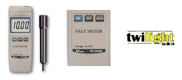 El medidor de sal YK-31SA