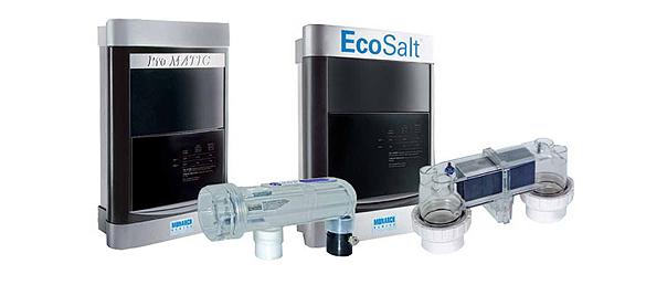 Nueva gama de aparatos de cloración salina Promatic y Ecosalt de Monarch Pool Systems