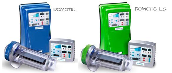 Clorador Salino Series Domotic y Domotic LS, de Idegis