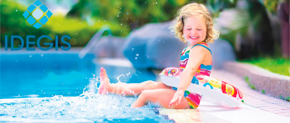 Electrolisis salina para piscina residencial por Idegis